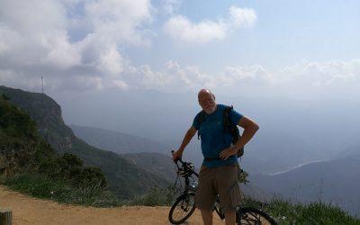 Cykeltur i Anderna i mjölkdistriktet